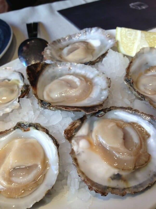Receta de ostras al natural recetas de cocina - Como cocinar ostras ...