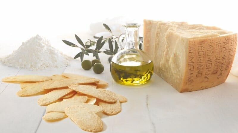 Parmonie, el snack de queso parmesano