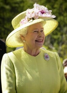 Reina Isabel de Inglaterra