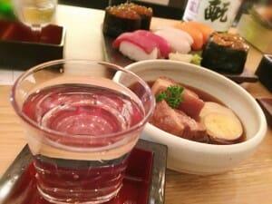 Tapas japonesa acompañando al sake