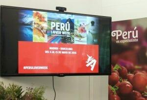 Presentación de Perú Lover Week