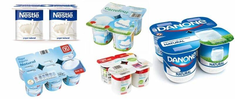 Dia yogur desnatado edulcorado