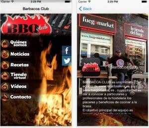 App de BBQ Club