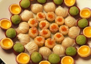 Comida china en Macao