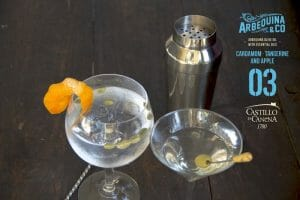 Dry Martini Gin Tonic Arbequina
