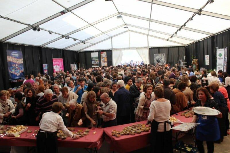Feria del Champiñón en Autol. Foto: LaRioja.com