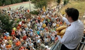 Fiesta del Pan y Queso en Quel