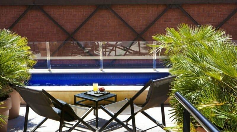 Terraza del Hotel Granados, en Barcelona