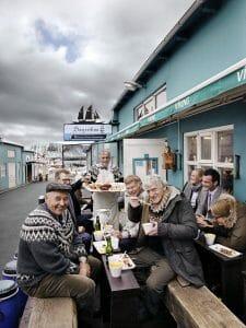 Comiendo en la calle