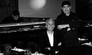 Antonio Bernal y Patricio, director y cocinero de Enso Sushi
