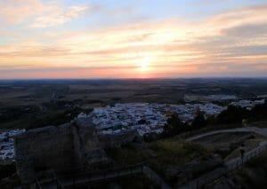 Atardecer en Medina Sidonia