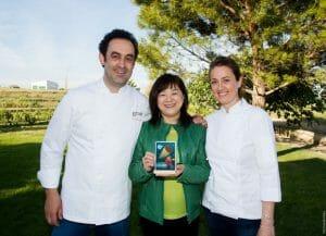 Yoko Yakushiji con Fernando y Angelines