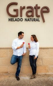 Fernando y Angelines, en su obrador
