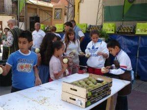 Chiquicocina en la Fiesta de la Pera (Imagen de Larioja.com)