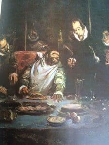 Sancho Panza, en la mesa