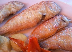 Raor, un pescado exquisito