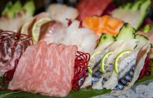 Sashimi en Enso Sushi