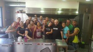 Juan M. Benayas con el grupo del curso de Alucinos e Incorpora
