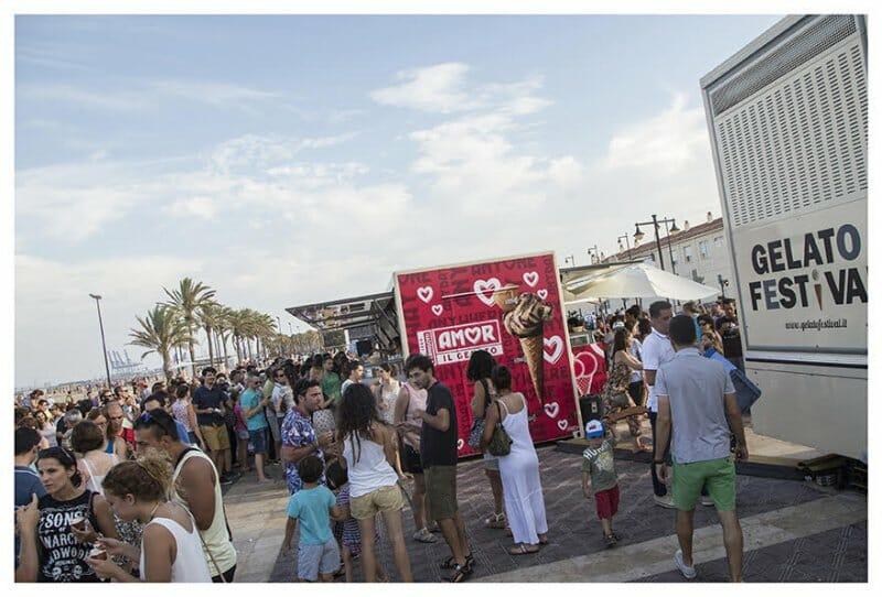Gelato Festival en Valencia