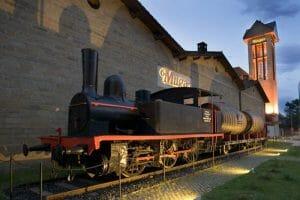 Trenes, vino y arquitectura se unen en Muga