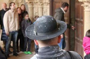 Visita en familia al Monasterio de las Cañas