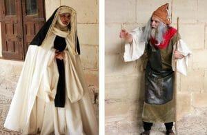 Visita teatralizada en el Monasterio de las Cañas