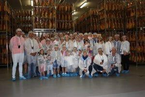 La fábrica de Embutidos Martínez Somalo organiza visitas guiadas