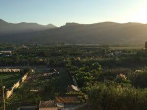 Montaña desde Xeraco