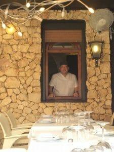 Ramón de Llobet, chef del Restaurante El Cantonet