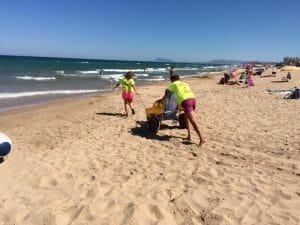 Servicio de asistencia en la playa de Xeraco