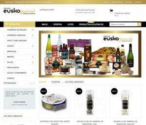 Productos en Euskogourmet
