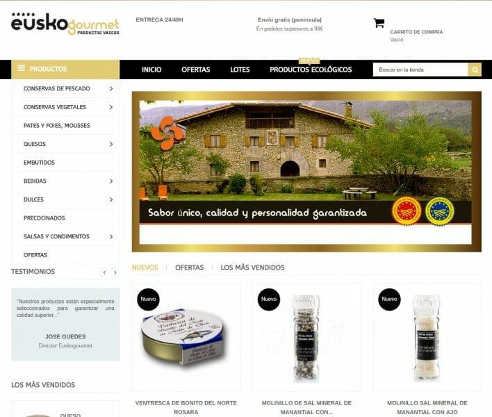 Euskogourmet: productos artesanos vascos en tu mesa en 24 horas