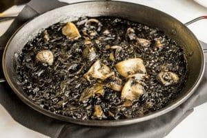 Arroz negro del restaurante Pelai