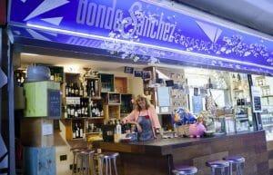 Vinos, cervezas y cosas ricas que ofrece Paz en Donde Sánchez