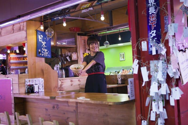 Yoka, en Yokaloka, el primer restaurante japonés que abrió en el mercado