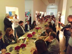 Cena en el Museo Amadeo de Souza-Cardoso