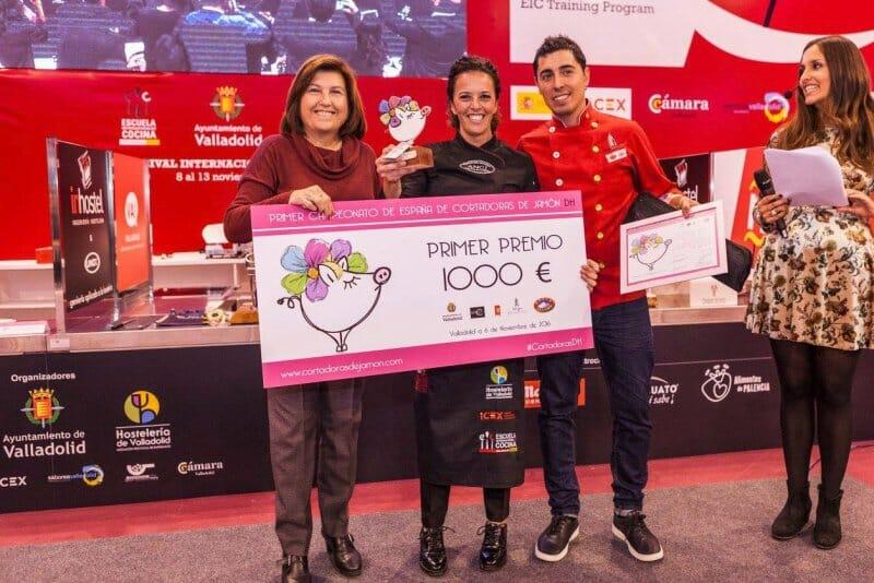 Laura Polvillo, ganadora del campeonato