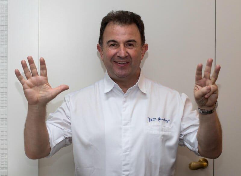 Martín Berasategui alcanza las ocho estrellas Michelin