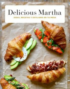 Portada de Delicious Martha: ideas, recetas y estilismo en tu mesa