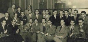 Escritores en el Café Gijón