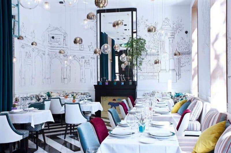 Sala del Restaurante Puerta Alcalá