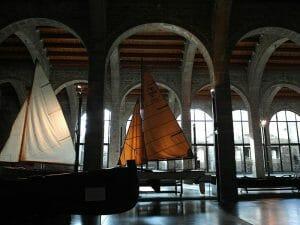 Otra imagen del Museo Marítimo de Barcelona