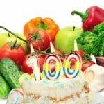 Si lo que quieres es vivir 100 años… come menos proteínas y más vegetales