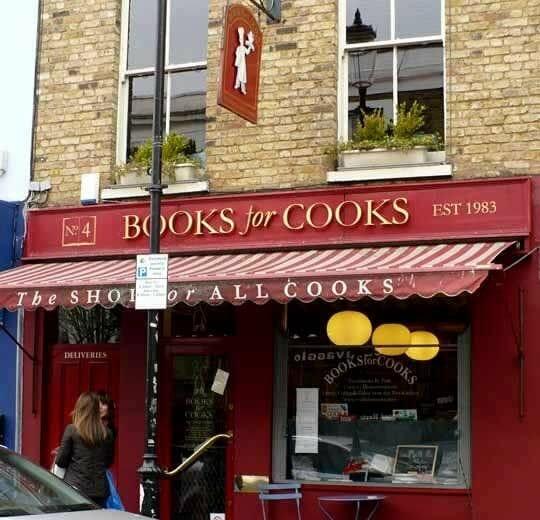 Librería y cafetería 'Books for Cooks' y otras tiendas imprescindibles en Londres