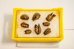 Caixetes del Delta del Ebre. Restaurante Marea Alta