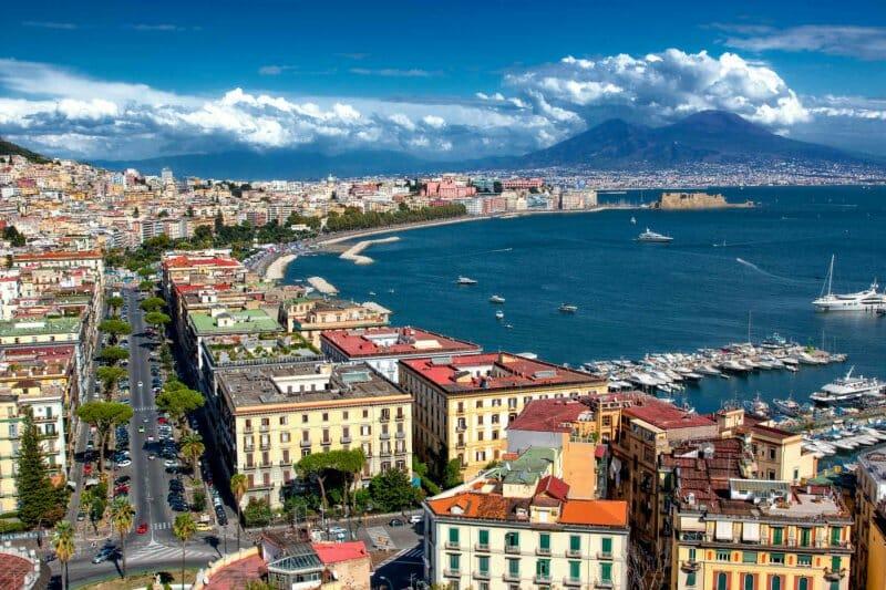 Nápoles vista panorámica