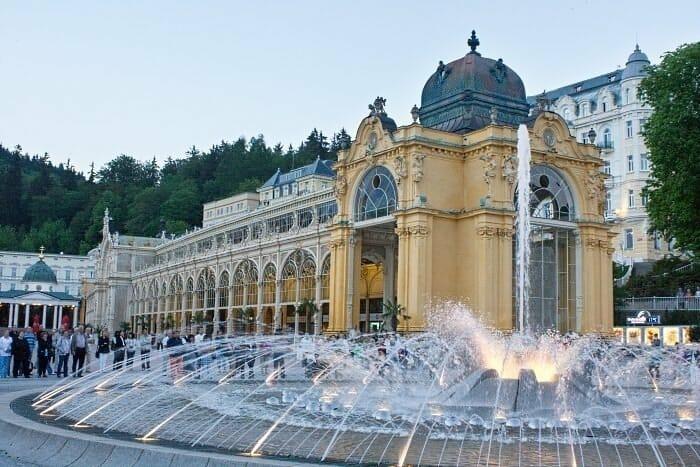 Turismo Termal en República Checa: agua que SÍ has de beber…