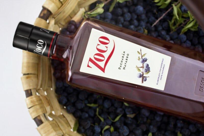 Pacharán Zoco, una botella con historia que se renueva