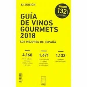 Portada de Guía de vinos Gourmets 2018