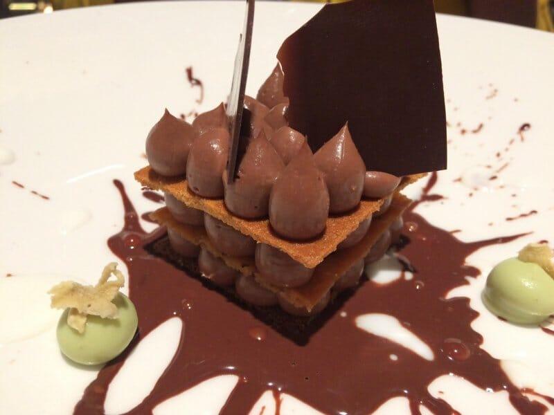 Milhojas de Chocolate Étimo